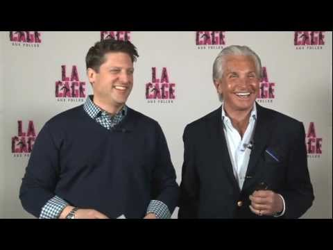 La Cage aux Folles on Tour Stars Christopher Sieber and George Hamilton