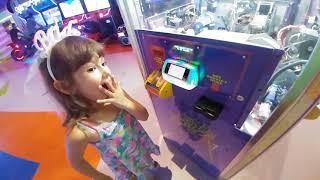 ELİF AGORA EĞLENCE MERKEZİNDE 1000 BİLET KAZANDI.Eğlenceli çocuk videosu playland