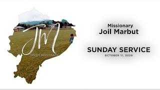 Sunday Service - October 11, 2020