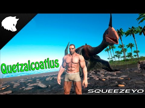 ARK Survival Evolved NEW DINO!!! Quetzalcoatlus (Quetzal)