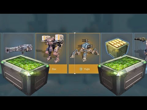 War Robots Black Market - Opening Silver Chests (7000 Keys)