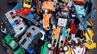 Tobot Magma 6 x Giga 7 Robot Toys Transformers Excavator, Fire Truck тобот 또봇 Truck Car for Kids