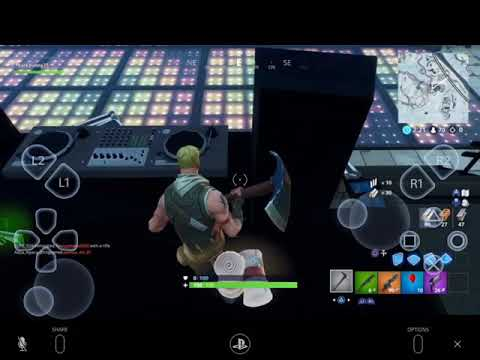 Playing Fortnite On A IPad Mini2 Hard