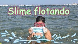 Slime Flotando en el Mar Reto Juguetes MaryVer