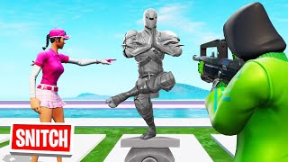 SNITCH The HIDDEN STATUE To WIN! (Fortnite Hide And Seek) thumbnail