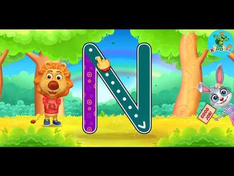 Learning Alphabets | Lucas & Ruby | Kindergarten Learning Videos For Children By Kiddies