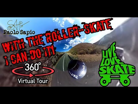 360 nature experience - Roller freestyle - Spain in the nature
