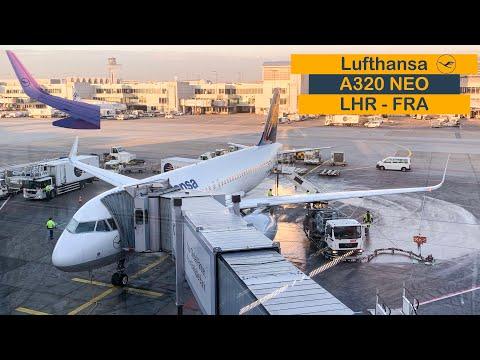 FLIGHT REVIEW | Lufthansa A320 NEO (ECONOMY) | London Heathrow (LHR) To Frankfurt (FRA)