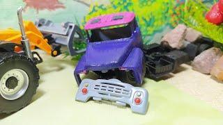 Машинки делали дорогу и нашли грузовичок. Видео для детей. videos for kids