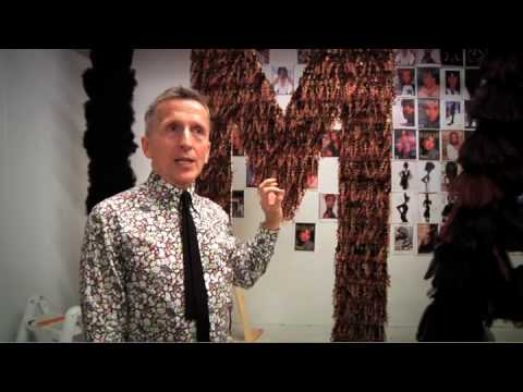 Iman S Window Display At Barneys With Simon Doonan Youtube