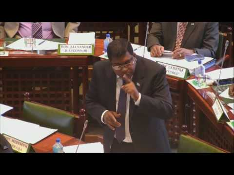 Fijian Minister for Education's informs Parliament on Zero Tolerance Policy-Chird Abuse in School