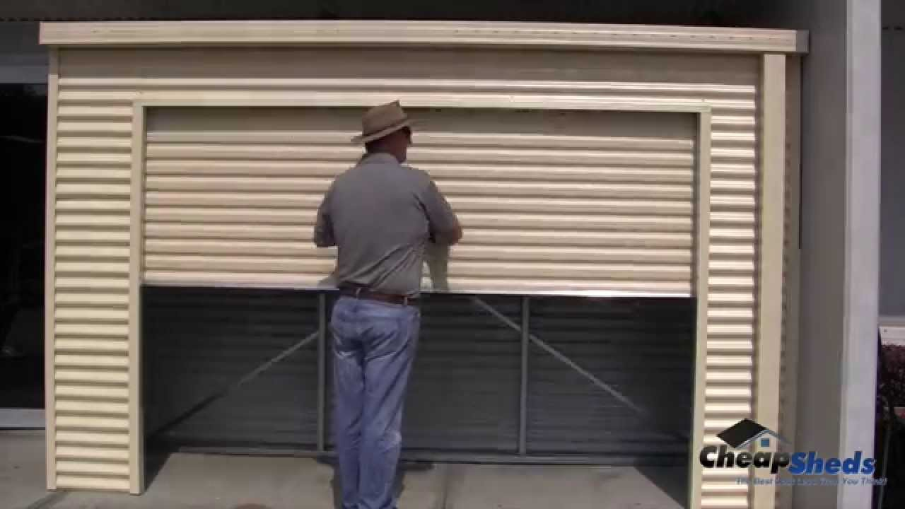 Step 8 - Mounting the Roller Door - Smartlocker Assembly Video & Step 8 - Mounting the Roller Door - Smartlocker Assembly Video - YouTube