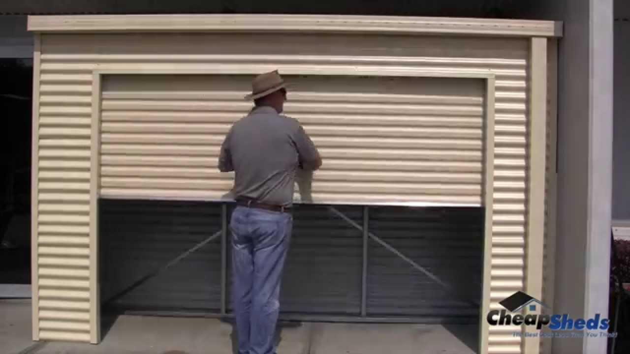 home id shed improvement products garage doors for stratco door image tilt