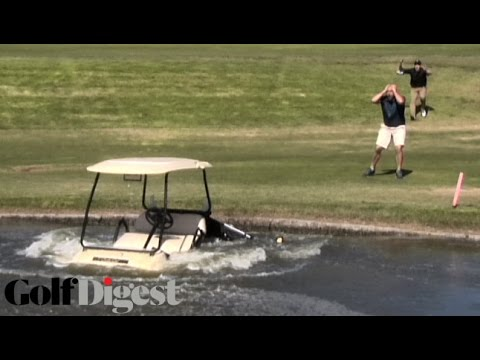 Parks & Rec's Jim O'Heir Goes Ballistic After iPad, Clubs Are Destroyed  Golf Digest's Shanked!