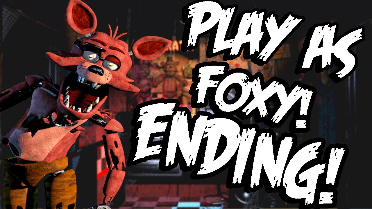 Bonnie Simulator: Part 3 (ENDING) - PLAY AS FOXY! And ALL ...