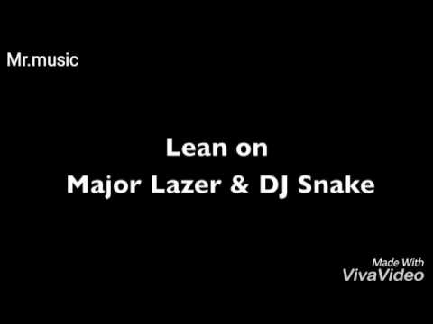 Lean on lyric