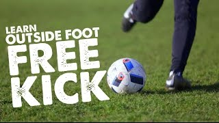 Learn Roberto Carlos Free kick - Outside Foot Curl Curve - Day 46 of 90