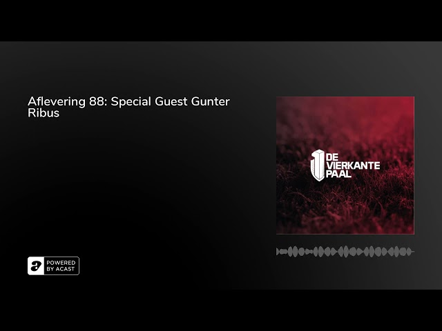 Aflevering 88: Special Guest Gunter Ribus