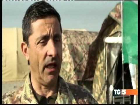 Campo militare italiano a Erbil
