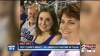 Roy Clark's impact on America's pastime in Tulsa