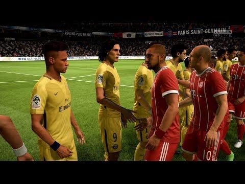 FIFA 18   FC Bayern Munich vs PSG - Full Gameplay (PS4/Xbox One)