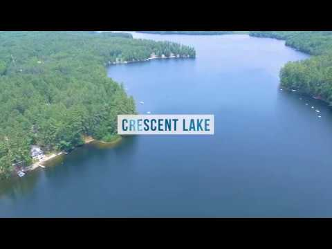 Crescent Lake - Rattlesnake Lake - Raymond and Casco, Maine Waterfront