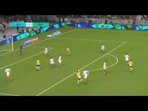 [HD] Brésil vs Angleterre   Match Amical FIFA   14 Novembre 2017   PES 2018