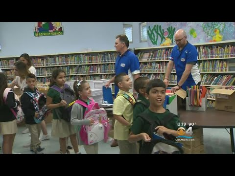 Kiwanis Club Provides School Supplies For Thousands Of Students In Need