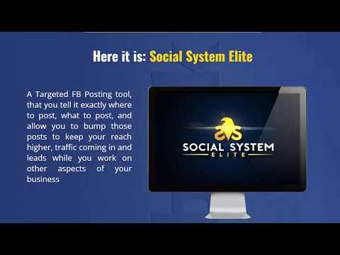 """Social System Elite"" + $106 Prize Contest"