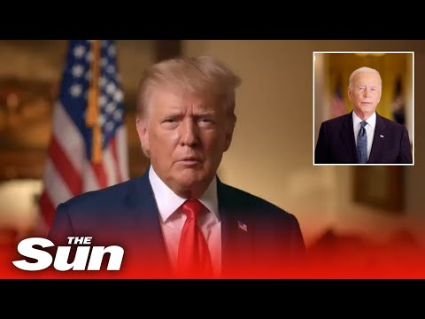Trump calls Biden's withdrawal of Afghanistan a 'surrender in defeat' in 9/11 address video