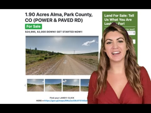 1.90 Acres Alma Property (with POWER & PAVED ROAD) in Park City, CO