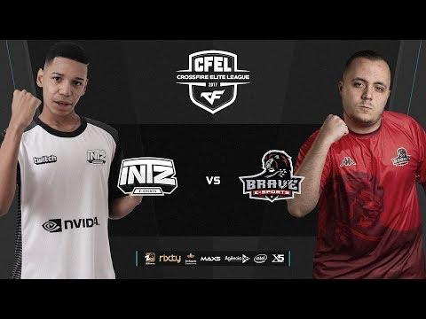 CFEL - 2ª Temporada - S2D1 - INTZ vs BRAVE  e INNSYG vs RUDE