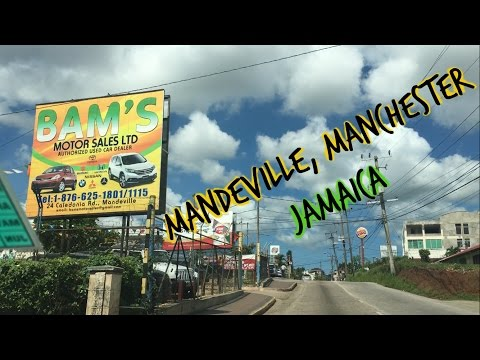 Driving in Mandeville - Manchester - Jamaica 2017