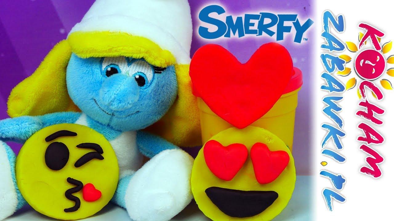 Smerfy • Prezent dla Smerfetki • Jakks Pacific & Emotki Film & Happy Meal • Bajki po polsku