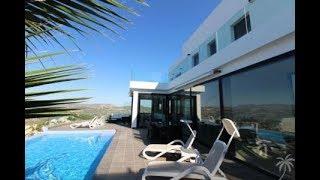 Espagne Villa moderne à vendre en bord de mer Vue spectaculaire  – Visite : New house tour