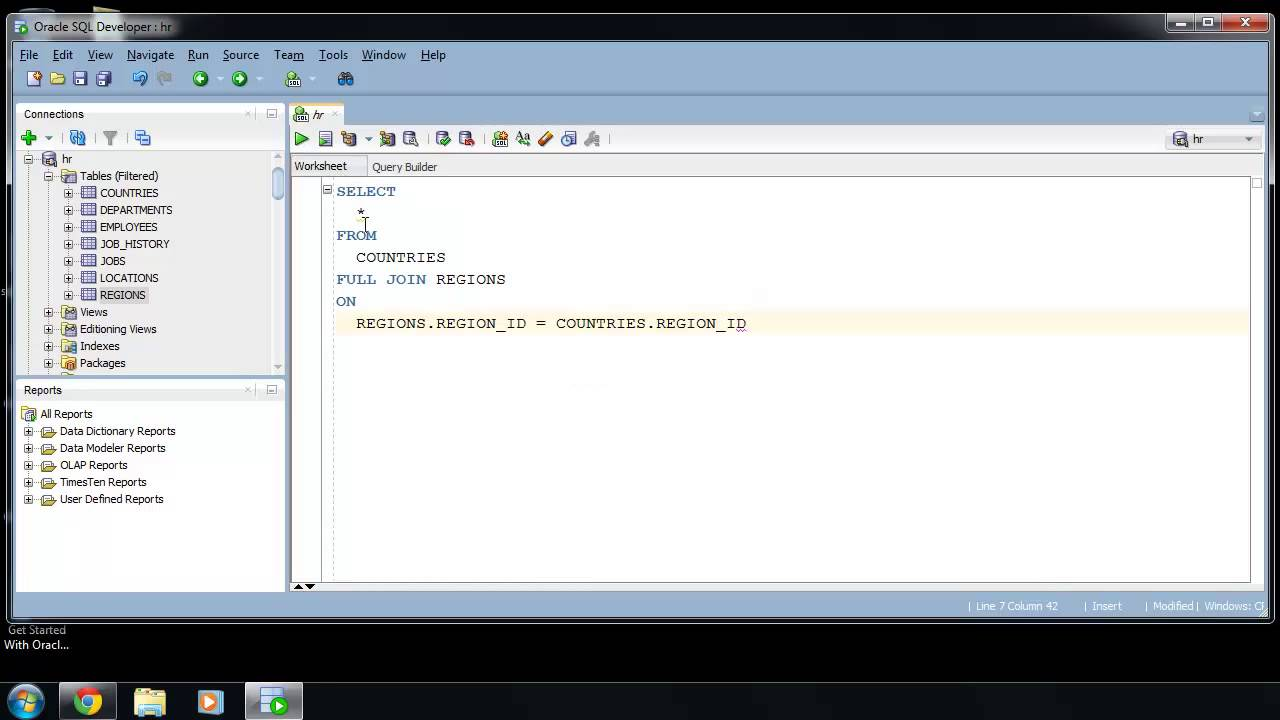SQL Developer Query Builder : sqlvids