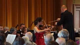 Aldis Elfarsdottir - Tchaikovsky Violin Concerto in D Major, Op. 35 (first movement part 1)