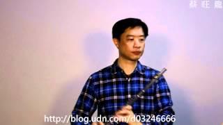 風の谷のナウシカ( 風之谷的娜烏西卡)/ Flute /長笛吹奏自錄-2012-4-8...