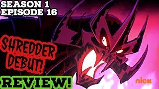 Rise of The TMNT | 'Shadow of Evil' Episode Review! THE SHREDDER! [BREAKDOWN & REACTION]