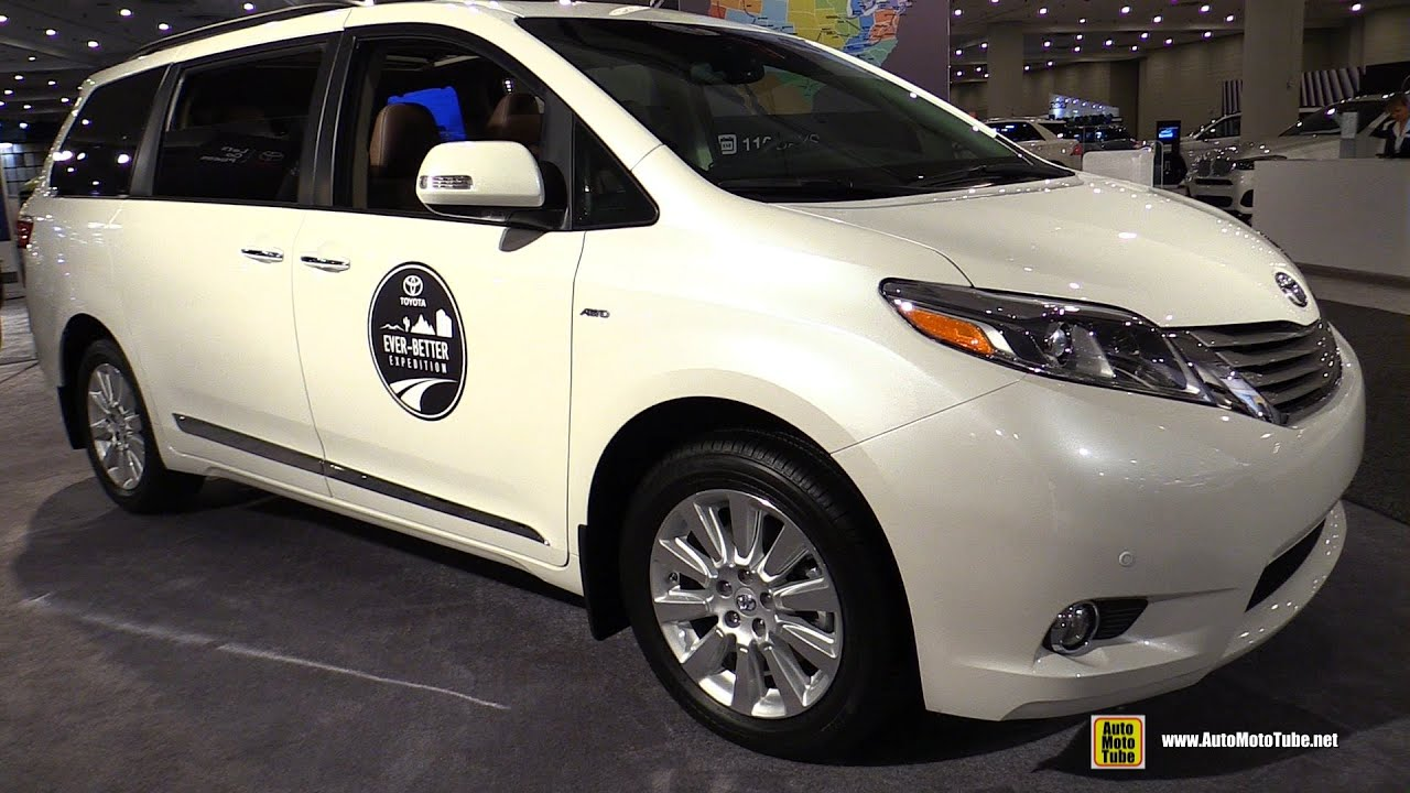 2016 toyota sienna limited awd exterior and interior. Black Bedroom Furniture Sets. Home Design Ideas