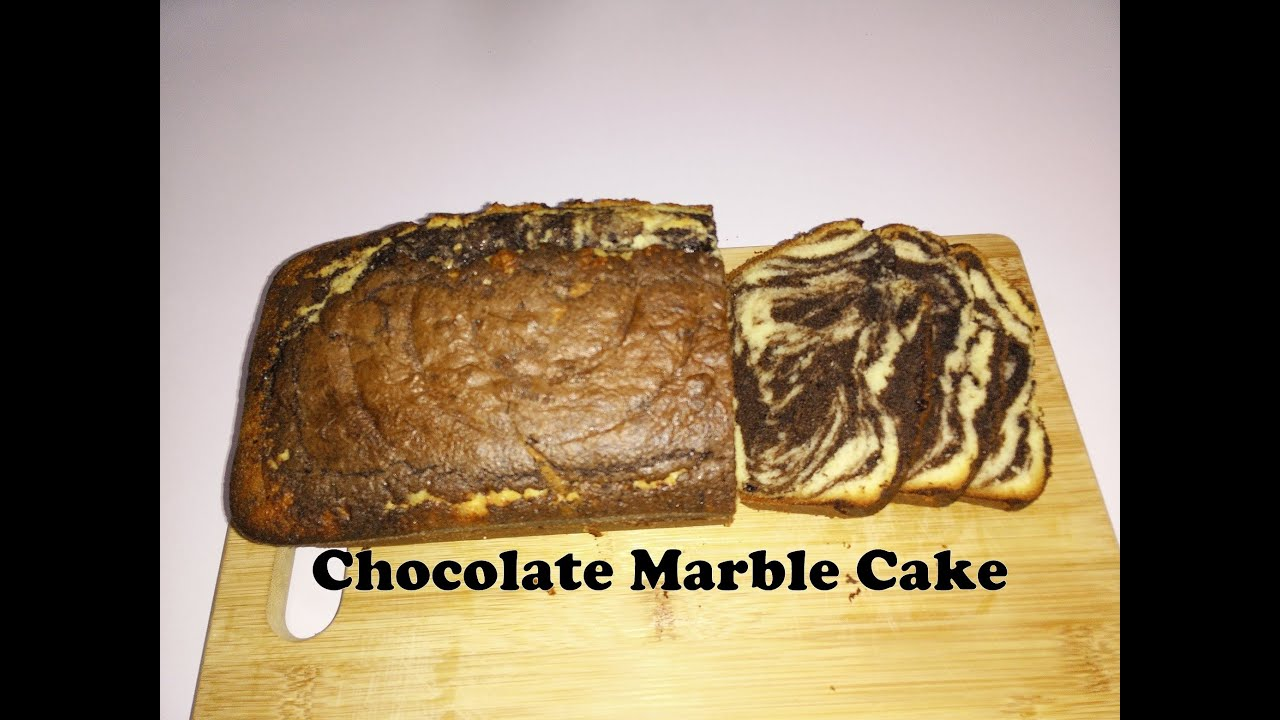 Chocolate Marble Cake Recipe in Hindi by Cooking with ...