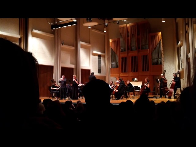 J.W. Hertel Concerto in Eb for Trumpet, Oboe and Orchestra -  movement 1