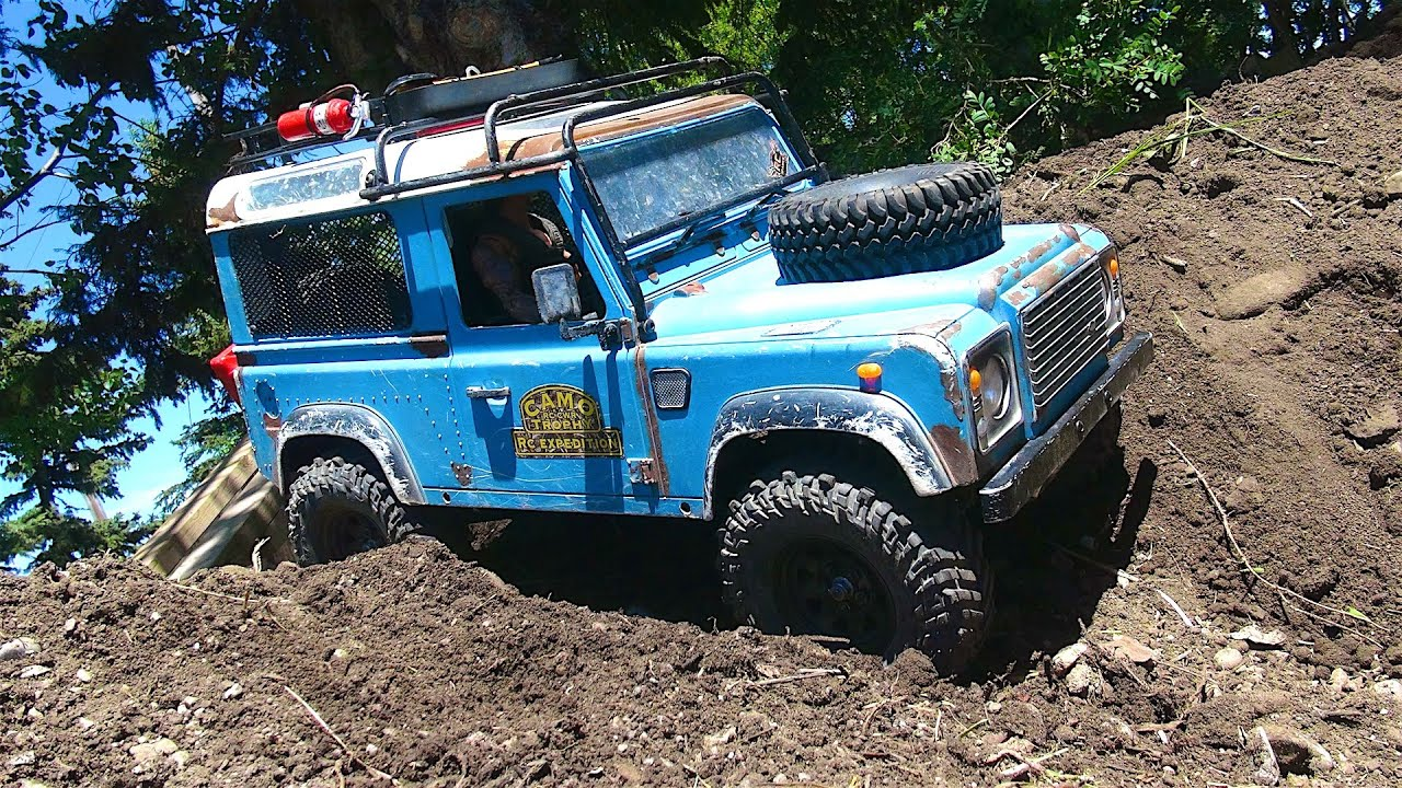 rc adventures building a backyard scale trail course tips