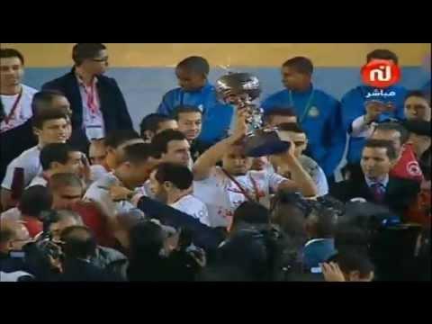 Can 2012 hand remise de coupe avec hymne tunisie tunisie championne d 39 afrique handball - Coupe d afrique handball ...