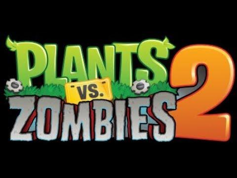 Plant vs Zombie 2 Pyramid Doom level  1