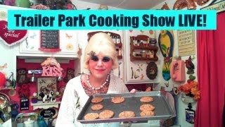 Molasses Coconut Macaroon Cookies : Trailer Park Cooking Show Live On Youtube