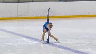 Вероника Яметова Короткая программа Женщины Сызрань Кубок России по фигурному катанию 2021 22
