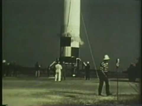 Jupiter rocket - first firing