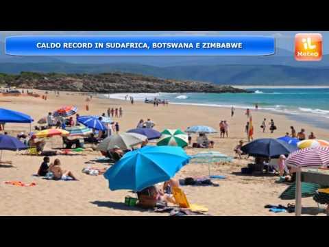 METEO ESTERO : CALDO RECORD IN SUD AFRICA