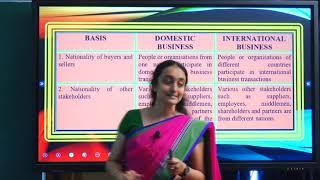 I PUC | BUSINESS STUDIES |  International Business - 03